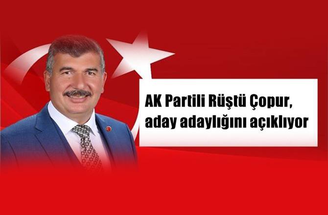 AK Parti Tarsus Belediye Başkan A.Adayı Rüştü Çopur, A. Adaylığını Resmi Olarak Açıklıyor