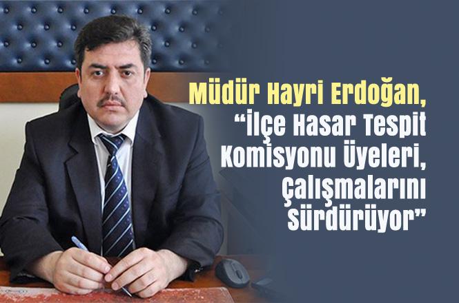 Tarsus'ta Üreticinin Hasarı Tespit Edilmeye Devam Ediyor