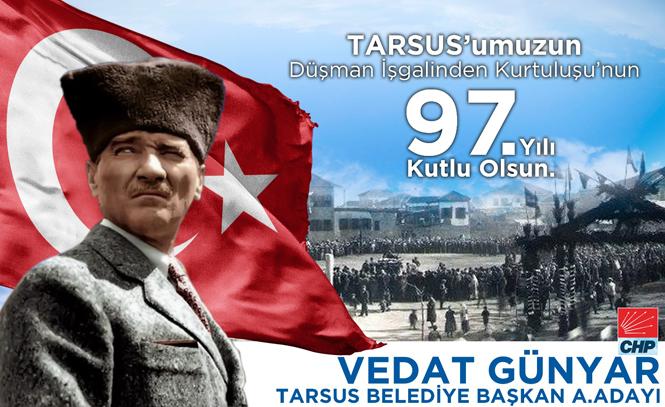 """CHP A.Adayı Günyar'dan """"27 Aralık"""" Kutlama Mesajı"""