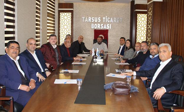 Tarsus Ticaret Borsası 2019 Yılının İlk Meclis Toplantısını Gerçekleştirdi