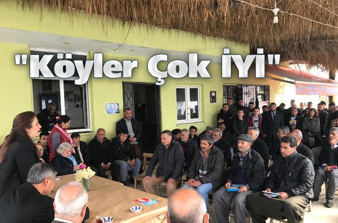 """İYİ Parti Tarsus Belediye Başkan Adayı Esin Erkoç, """"Köyler Çok İYİ"""""""