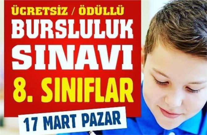 Özel Tarsus Çukurova Okulları 8. Sınıflar İçin Ücretsiz Ödüllü Bursluluk Sınavı Düzenliyor