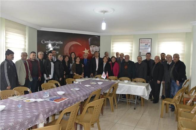 İYİ Parti Tarsus Adayı Sahada; Emekliler Esin Erkoç İle..