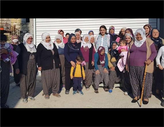 """Esin Erkoç, """"Kadına Şiddetin Olmadığı Bir Dünya İstiyoruz"""""""