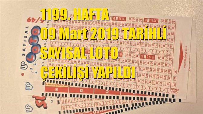 Sayısal Loto Sonuçları 09 Mart 2019 Tarihli Çıkan Sayılar: 08 - 18 - 29 - 43 - 45 - 49