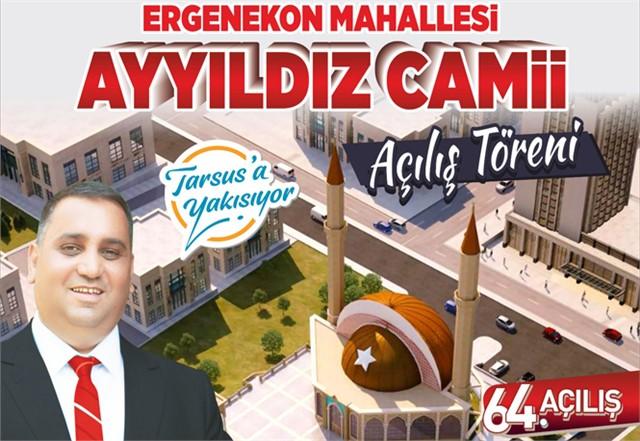Ayyıldız Camii Açılıyor Başkan Can, ''Camiiler İbadet ve Fikir Merkezidir''