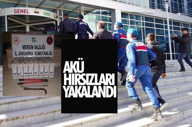 Türk Telekom'a Ait Baz İstasyonlarındaki Aküleri Çalan 5 Kişi Suçüstü Yakalandı