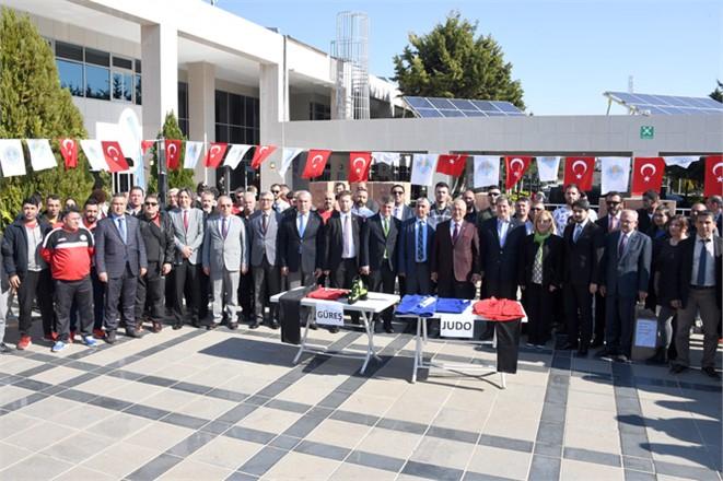Mersin Büyükşehir'den Salon Sporlarına Destek