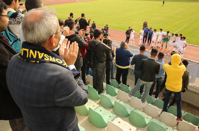 Tarsus Belediye Başkanı Dr. Bozdoğan, Taraftarla Birlikte TİY Maçını İzledi