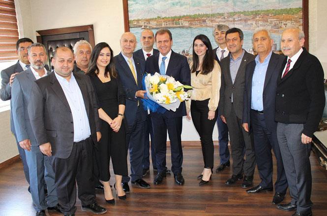 Ticaret Borsasından Başkan Seçer ve Bozdoğan'a Ziyaret