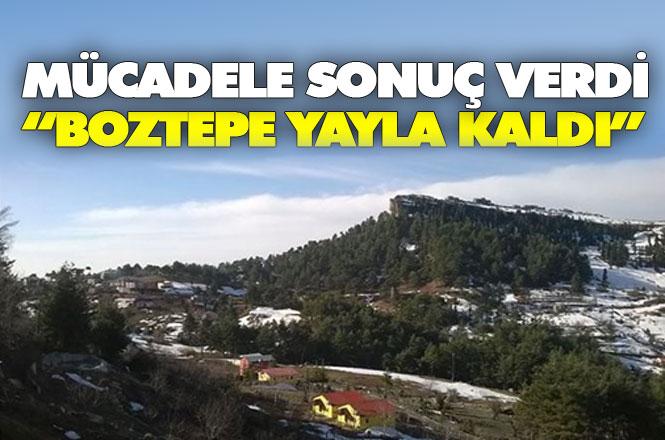 Boztepe'de Maden Ocağına ÇED Engeli, Vatandaşın Mücadelesi Sonuç Verdi