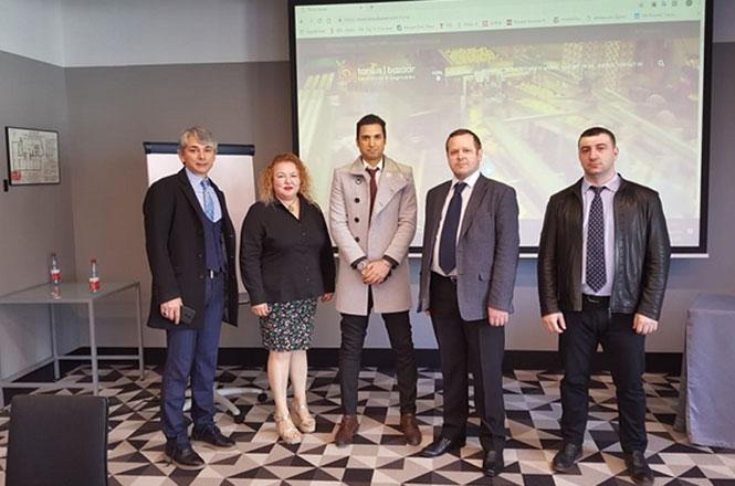 Tarsus Ticaret Borsası URGE İhracat Takımı Moskova'da