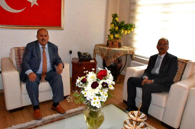 Tarsus Kaymakamı Ünal'dan Başkan Bozdoğan'a Ziyaret