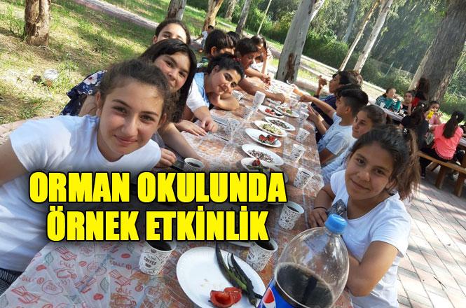 """Tarsus Şehit Sabri Acem Ortaokulu """"Yaza Merhaba Kampı"""" İle Doyasıya Eğlendi"""