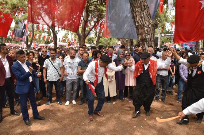 Başkan Yılmaz, Türkmen Şöleni'nde Vatandaşlarla Bir Araya Geldi