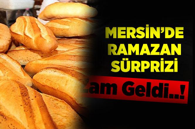 Ve Beklenen Oldu, Mersin'de Ekmeğe Zam Geldi! 200 Gramlık Ekmek Fırınlarda 1 Lira 25 Kuruşa Çıktı
