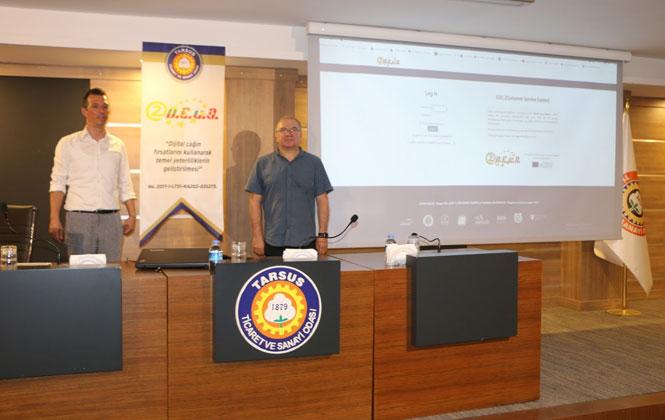 Tarsus'ta Girişimcilere Güncel Destek Programları Anlatıldı