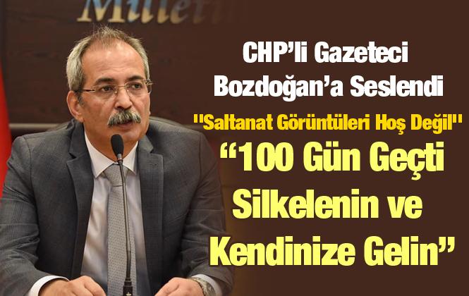 """Mehmet Can Bulut Bozdoğan'a Seslendi """"Saltanat Görüntüleri Hoş Değil"""""""