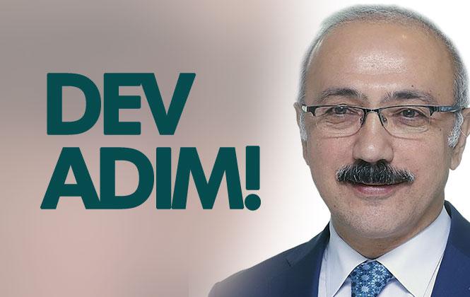 Mersin Milletvekili Lütfi Elvan'dan, Kent Ulaşımı İçin Önemli Olan Mersin Metrosu İçin Dev Adım