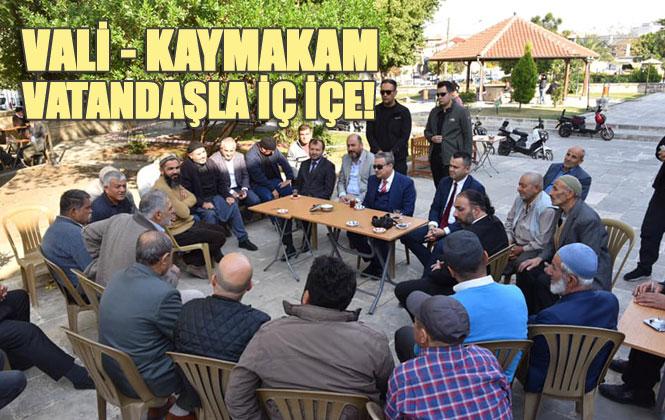 Mersin Valisi Ali İhsan Su, Tarsus'ta Bazı Ziyaret ve İncelemelerde Bulundu
