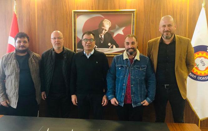 Tarsus Gazeteciler Cemiyetinden, Tarsus TSO'ya Ziyaret