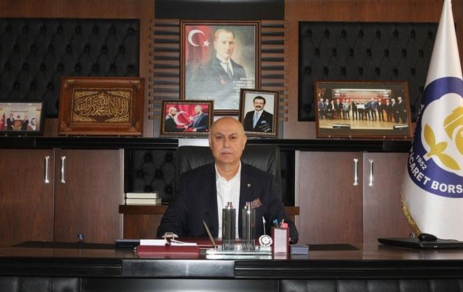Tarsus Ticaret Borsası Başkanı Murat Kaya Yeni Yıl Mesajı