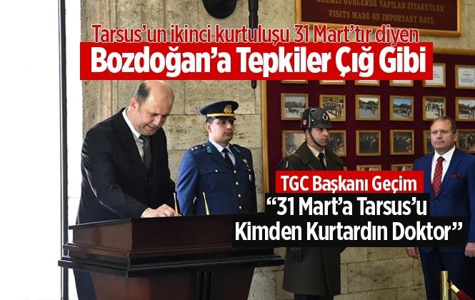 Haluk Bozdoğan'a Bir Tepkide TGC Başkanı Emre Geçim'den Geldi