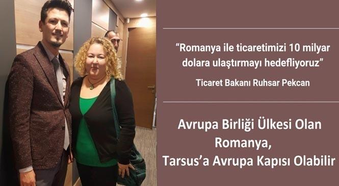 Tarsus Ticaret Borsası Romanya Heyeti İle Görüştü
