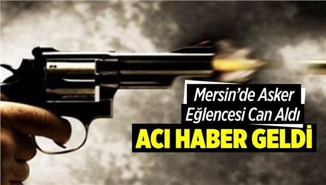 Tarsus'ta Düzenlenen Asker Eğlencesinde Havaya Açılan Ateş Sonrası Yaralanarak Hastaneye Kaldırılan M.G. Hayatını Kaybetti