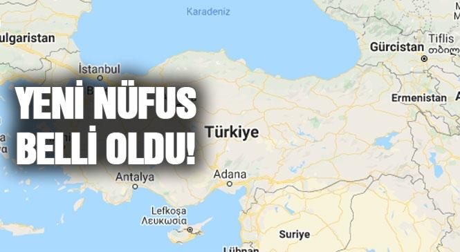 TÜİK Verileri Açıkladı! İşte Türkiye'nin Nüfusu Adrese Dayalı Nüfus Kayıt Sistemi Sonuçlarına Göre 83 Milyon 154 Bin 997 Kişi
