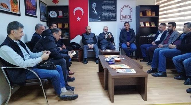 Ankara Tarsuslular Derneği (TADER) Şehitlerimiz İçin Kur'an Okuttu