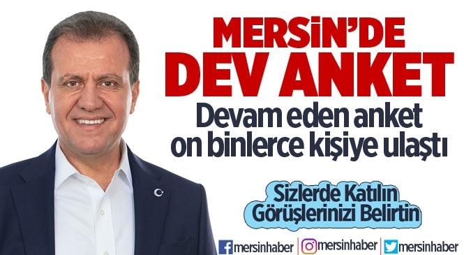 Vahap Seçer Anketi! Mersinli Düzenlenen Anketle Büyükşehir Belediye Başkanı Seçer'i Oyluyor!