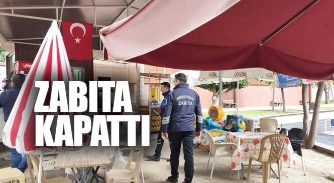 Koronavirüs Tedbirleri Kapsamında Park İçerisindeki Çay Bahçeleri ve Kafelerde Kapatıldı