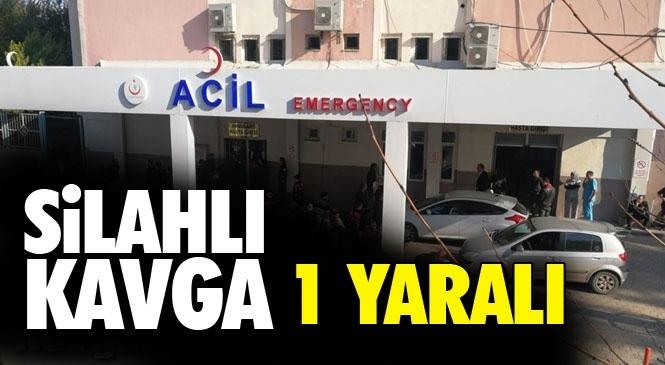 Mersin Tarsus'ta Meydana Gelen Silahlı Kavgada 1 Kişi Yaralandı.