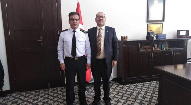 Başkan Duran Şen, Jandarma Teşkilatının Kuruluşu Yıldönümünü Kutladı
