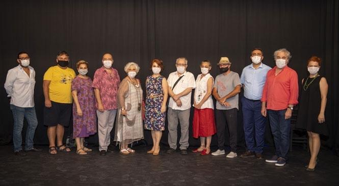 Mersin Şehir Tiyatrosu'na Oyuncu Alımı Sınavı'na, Usta Tiyatroculardan Destek! Sanatın Ustaları Jüri Koltuğunda