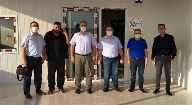 """Kumluca TSO """"Kaş Gıda OSB"""" Projeleri İçin Tarsus'ta"""