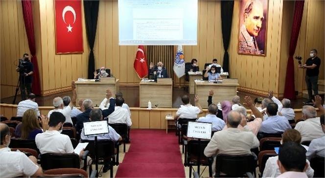 Akdeniz'in 2021 Yılı Mali Bütçesi Meclisin Oybirliği İle Kabul Edildi