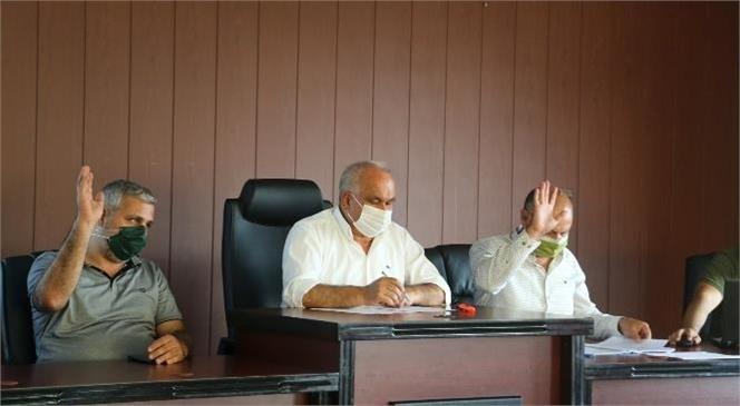 Erdemli Belediyesi, Ekim Ayı Meclis Toplantısı 2. Oturumu Gerçekleştirdi