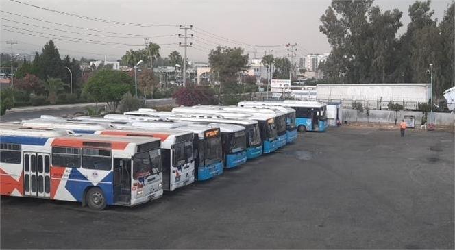 Tarsus'ta Büyükşehir Belediyesi Toplu Taşıma Araçlarının Çalışma Saatlerine Yeni Düzenleme