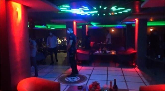 Mersin Polisi Eğlence Mekanını Bastı, 79.500 TL Ceza Kesti