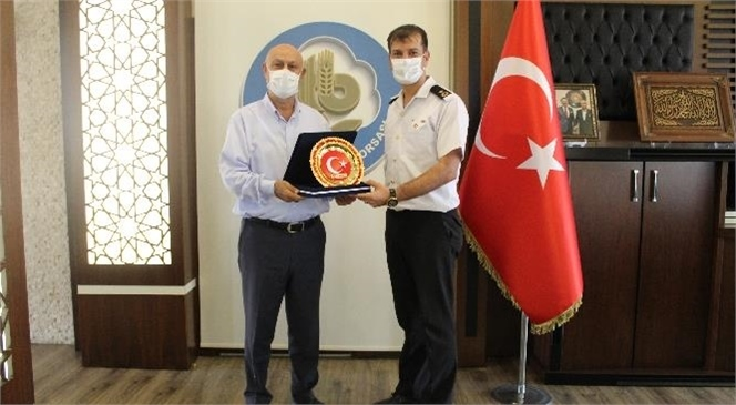Jandarma Komutanı İnanç Marım'dan İade-i Ziyaret