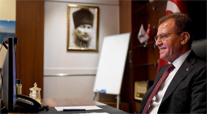 """Başkan Seçer, Mersin Metrosu Hakkında Konuştu: """"Kısa Bir Sürede 4 İlçeyi Birbirine Demir Ağlarla Bağlamak İstiyoruz"""""""