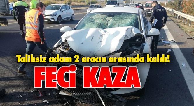 Tarsus'ta Kaza! Mersin Tarsus Otoyolundaki Kazada Mehmet Fatlı Özger Hayatını Kaybetti