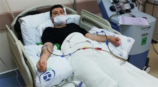 Büyükşehir Personeli Turan Dal, Bir Lösemi Hastasına Umut Oldu