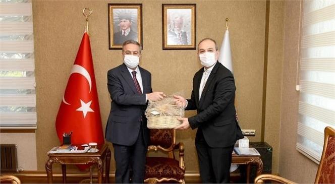 TGKA Genel Müdür Yardımcısı Türkmen'den Vali Su'ya Ziyaret