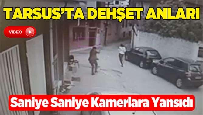 Tarsus'taki İntihar Saniye Saniye Kameralara Yansıdı