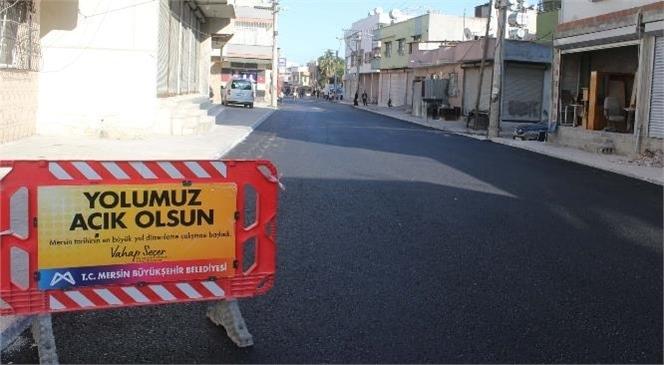 Büyükşehir, Akdeniz İlçesi 142. Cadde'deki Yol Sorununu Çözdü
