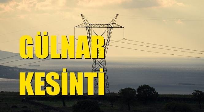 Gülnar Elektrik Kesintisi 26 Temmuz Pazartesi