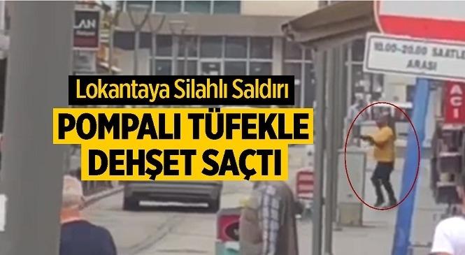 Ankara Sincan'da Lokantaya Pompalı Tüfekle Saldırı! Lokanta Sahibi ve 2 Çalışanı Yaralandı